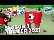 NEW NUMBERBLOCKS season 7 trailer 2021!!!!