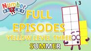 SummerLearning Numberblocks - Yellow Level Three Full Episodes 4-6 Learn to Count WithMe