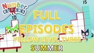 SummerLearning Numberblocks - Yellow Level Three Full Episodes 10-12 Learn to Count WithMe