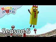 @Numberblocks - Full Episodes - S5 EP6- Ten Vaulting