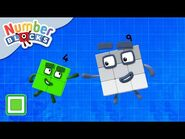 @Numberblocks - Square Club ⬛ - Numbers Are Everywhere - Educational - Learn to Count