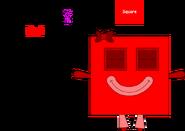 Square Shape Block