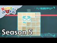 @Numberblocks - Full Episodes - S5 EP22- Steps Versus Squares