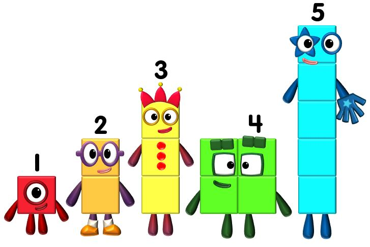 Alexsacco38/My new Numberblocks made in Powerpoint