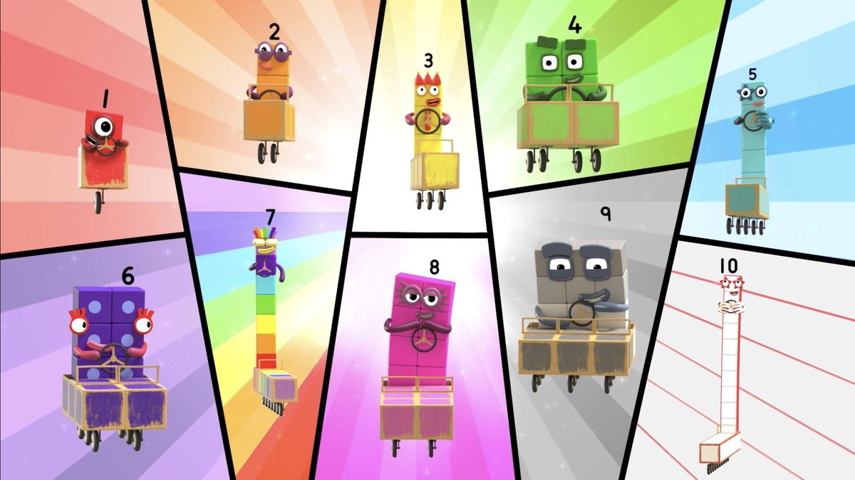 Numberblock Rally