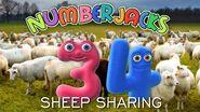 NUMBERJACKS Sheep Sharing Audio Story