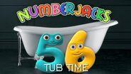 NUMBERJACKS Tub Time Audio Story
