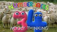 NUMBERJACKS Wooly Thinking Audio Story