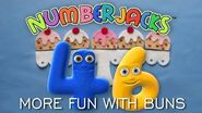 NUMBERJACKS More Fun with Buns Audio Story