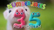 NUMBERJACKS Pig Problem Audio Story