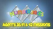 NUMBERJACKS Agents 38, 41 & 42 Missions