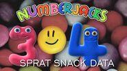 NUMBERJACKS Sprat Snack Data Audio Story