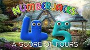 NUMBERJACKS A Score of Fours Audio Story