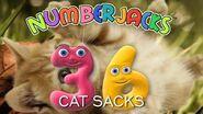 NUMBERJACKS Cat Sacks Audio Story