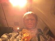 Southpaw on a plane by 321southpaw