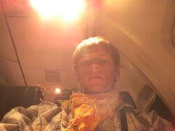 Southpaw on a plane by 321southpaw.jpg