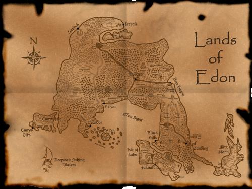Map of Edon
