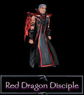 A red dragon disciple