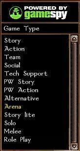 GameSpy Game type