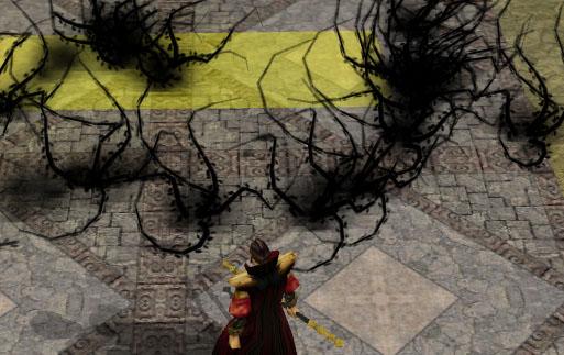 Evard's black tentacles