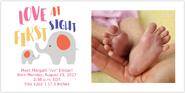 Ivy Birth Announcement