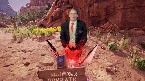 Mayor Josef Welcomes Us