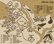 Oberin City Map