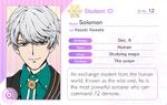 Solomon Student Card