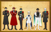 Minor characters' height comparison