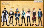 Main characters' height comparison human world