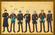 Main characters' height comparison