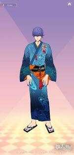 Leviathan's Yukata Outfit