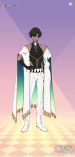 Simeon's Angel Outfit
