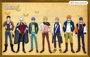 Main characters' height comparison Body-Swap