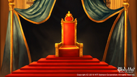 Devil's Quest throne room