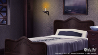 Devil's Quest hotel room