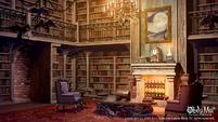 Library - door open