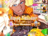 Happy Birthday! Dear Mammon '21