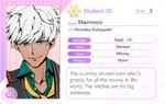 Mammon Student Card