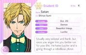 Satan Student Card