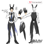 Lucifer in Rabbit Outfit