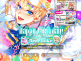 Happy Birthday! Dear Luke