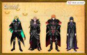 Main characters' height comparison TSL 2