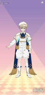 Luke's Angel Outfit