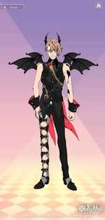 Asmodeus's Demon Outfit