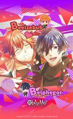 Beelzebub Belphegor birthday wallpaper 2