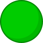 Green Rubber Ball