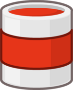 Paint Bucket Red