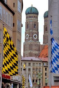 Mun flags frauenkirche.jpg