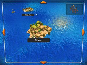 Tikarel island on the World Map.
